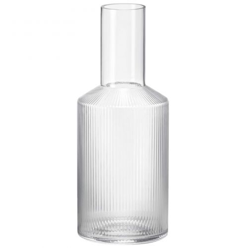 ferm LIVING / Sklenená karafa Ripple 900 ml