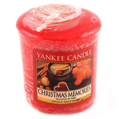 Yankee Candle / Votívna sviečka Yankee Candle - Christmas Memories