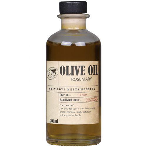 Prvotřídní španělský extra panenský olivový olej s aromatickou chutí rozmarýnu.