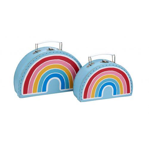 sass & belle / Kufrík Rainbow - 2 veľkosti