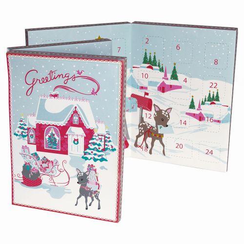 GREEN GATE / Adventný čokoládový kalendár Bambi