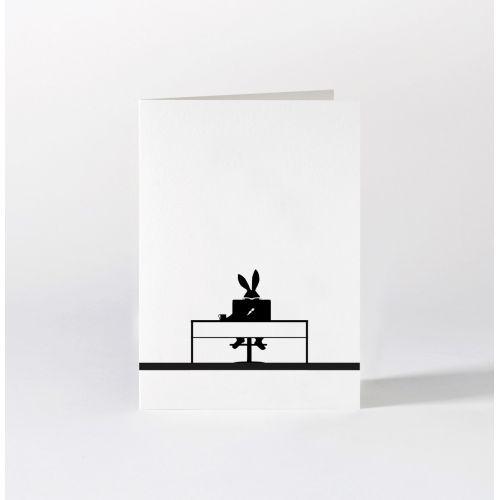 HAM / Papierové prianie s králikom Working Rabbit
