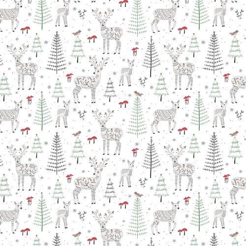 sass & belle / Darčekový baliaci papier Folk Deer