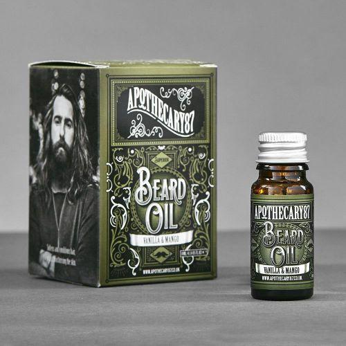 Apothecary87 / Ošetrujúci olej na fúzy Beard Oil Vanilla Mango