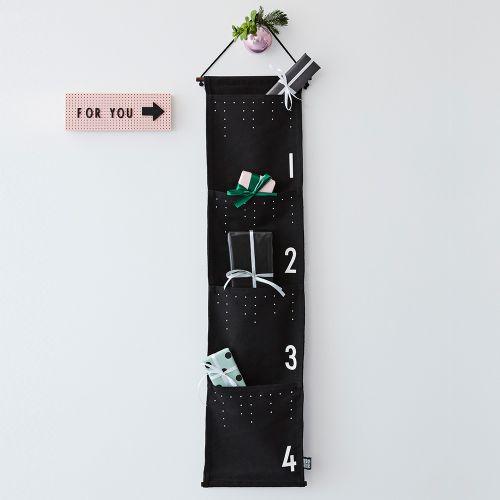DESIGN LETTERS / Adventný kalendár Black & White
