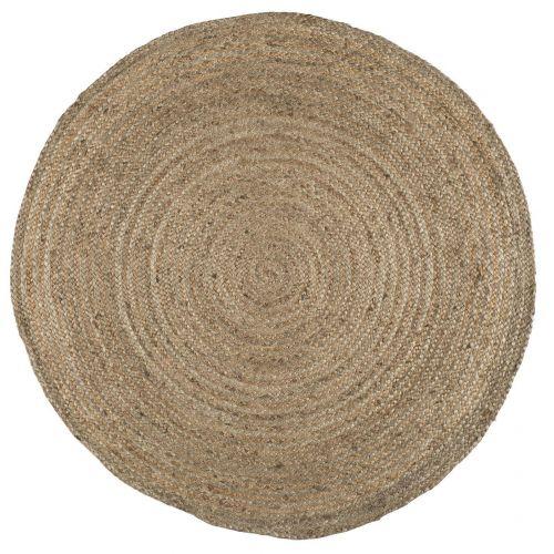 IB LAURSEN / Okrúhly jutový koberec Natural Jute 120 cm