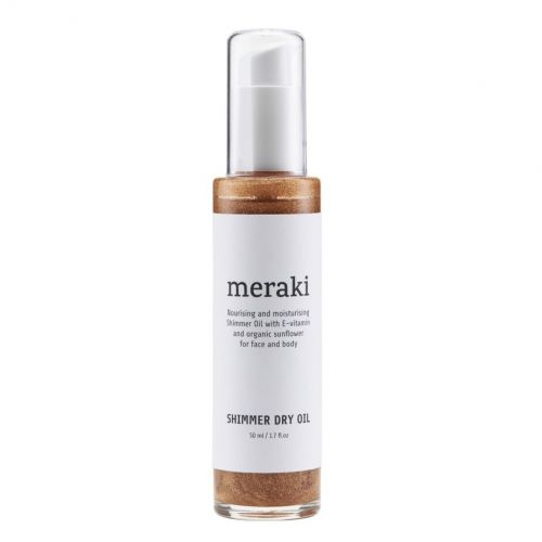 meraki / Suchý telový olej 50 ml - trblietavý