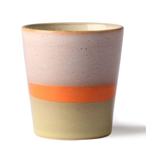 HK living / Keramický hrnček 70's Mug Saturn 180 ml