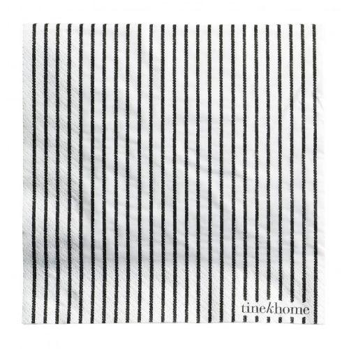 Tine K Home / Papierové obrúsky Black - 50 ks