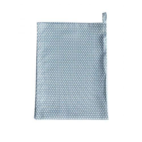 Krasilnikoff / Utierka Micro Dots Dusty Blue 50x70cm