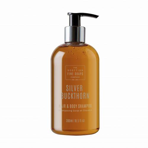 SCOTTISH FINE SOAPS / Umývací gél na telo i vlasy Strieborný reštliak 300ml