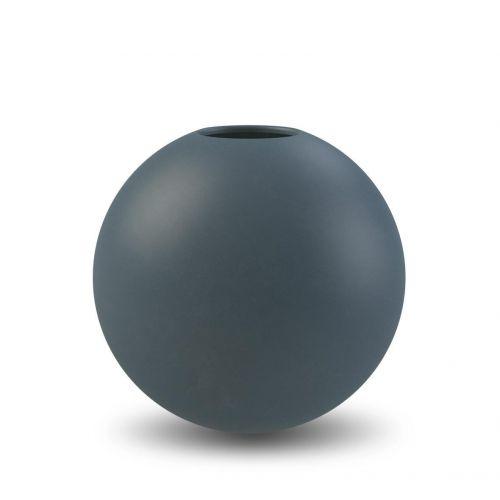 COOEE Design / Guľatá váza Ball Midnight Blue 10 cm