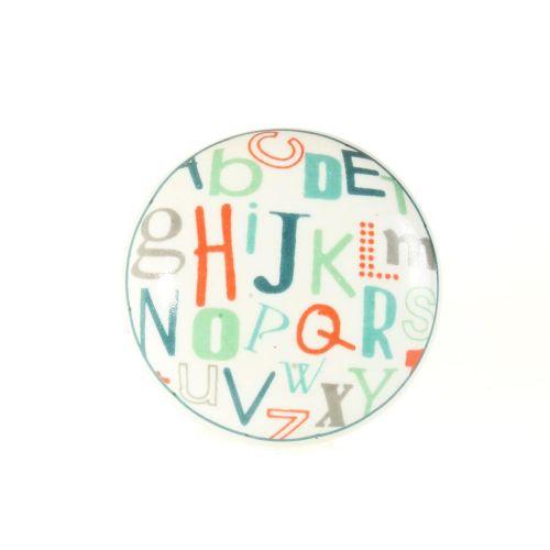 La finesse / Porcelánová úchytka Letters