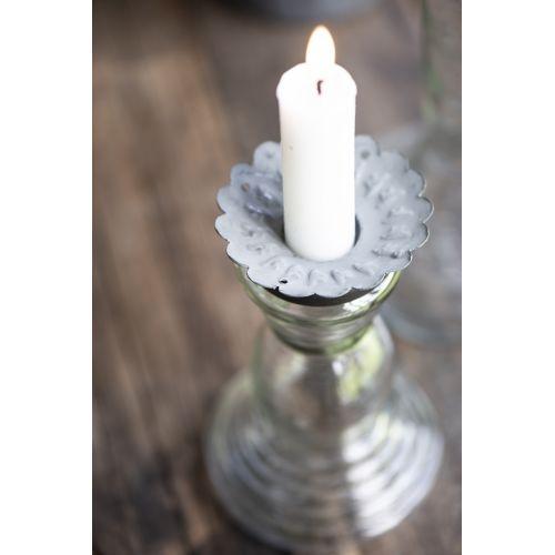 IB LAURSEN / Nadstavec na sviečku pre odkvapkávanie vosku Zinc