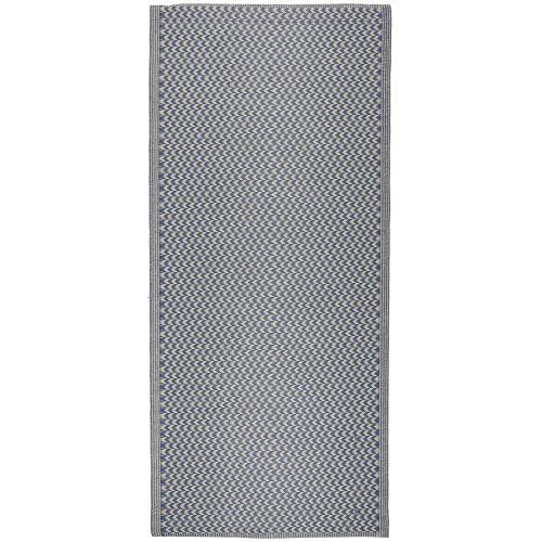 IB LAURSEN / Plastový koberec Recycled Blue 90x180 cm
