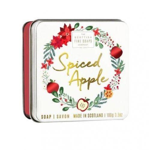 SCOTTISH FINE SOAPS / Mydlo v plechovej krabičke Spiced Apple 100 g
