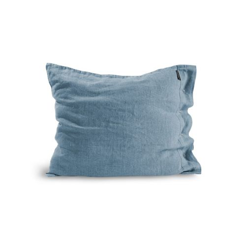 Lovely Linen / Lněný povlak na polštář Dusty Blue 50x60cm