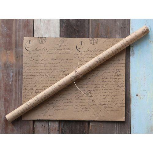 Chic Antique / Dárkový balící papír French