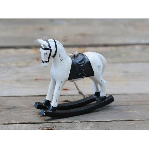 Chic Antique / Dekoratívny hojdací koník Black
