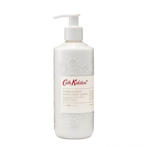 Cath Kidston / Mléko na ruce a tělo Freston Cassis and Rose - 300 ml