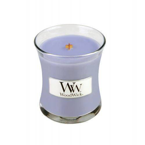 WoodWick / Vonná sviečka Woodwick Levanduľový kúpeľ 85 g