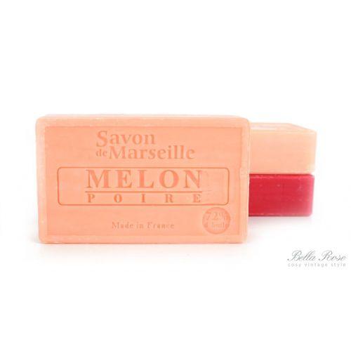 LE CHATELARD / Marseillské mydlo 100 g - melón a hruška