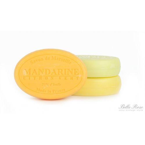 LE CHATELARD / Mýdlo Marseille 100 g ovál - mandarinka a limetka