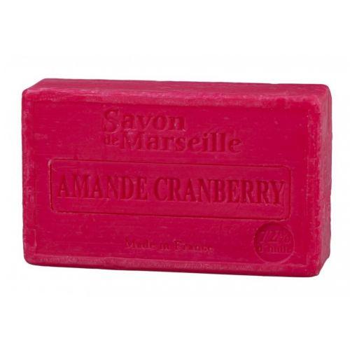 LE CHATELARD / Marseillské mydlo 100 g - mandle a brusnica