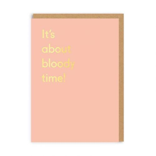 Ohh Deer / Prianie s obálkou It's About Time