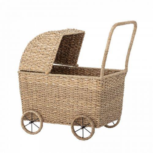 Bloomingville / Prútený kočiarik pre bábiky Susan