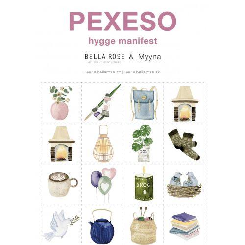 Bella Rose / Papierové pexeso Hygge Manifest