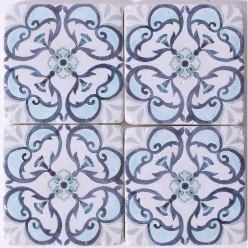 La finesse / Kamenné podtácky pod hrnčeky Blue Ornament