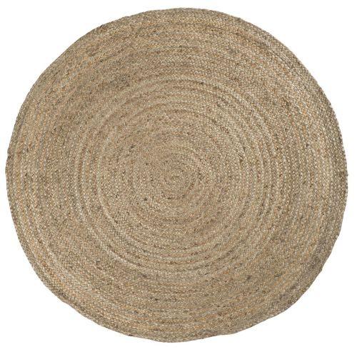 IB LAURSEN / Jutový koberec Rug Round Jute Ø 220 cm