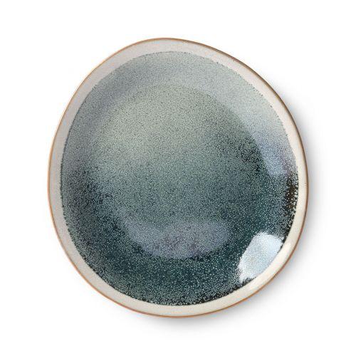 HK living / Keramický dezertný tanier Mist