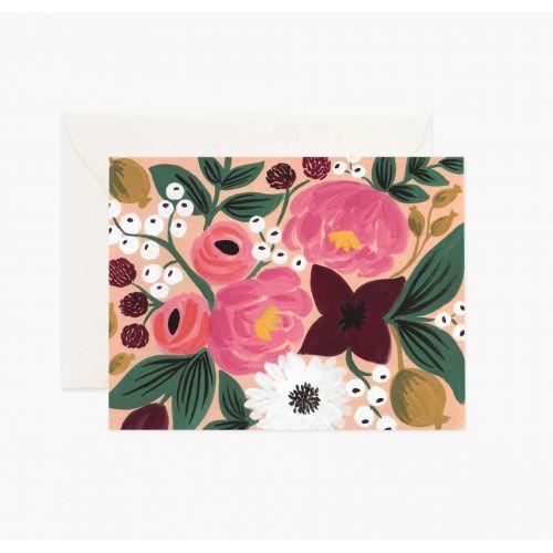 Rifle Paper Co. / Prianie s obálkou Vintage Blossoms Peach
