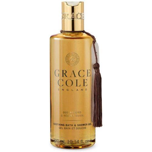 Grace Cole / Sprchový gél Oud Accord & Velvet Musk 300ml