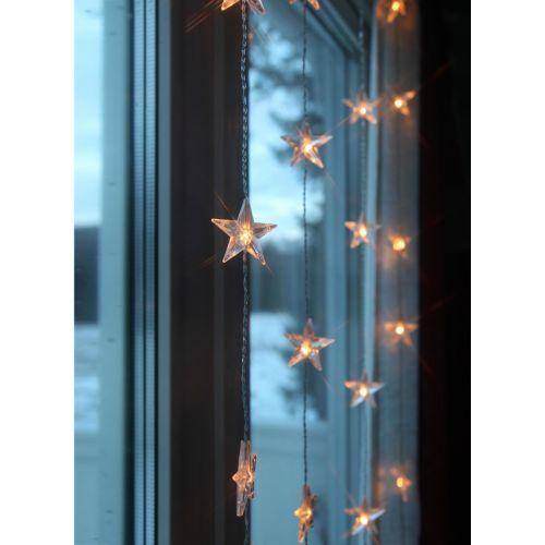 STAR TRADING / Svetelná reťaz s hviezdičkami Star Curtain 90 × 120 cm
