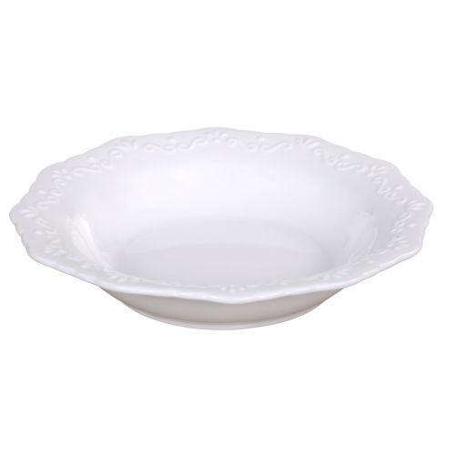 Chic Antique / Porcelánový polievkový tanier Provence
