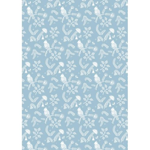 IB LAURSEN / Darčekový baliaci papier Blue Bird 10 m