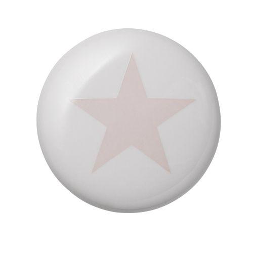 Bloomingville / Porcelánová úchytka Rose Star