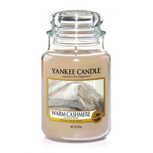 Yankee Candle / Sviečka Yankee Candle 623gr - Warm Cashmere