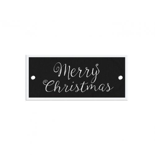 TAFELGUT / Papierový štítok Merry Christmas