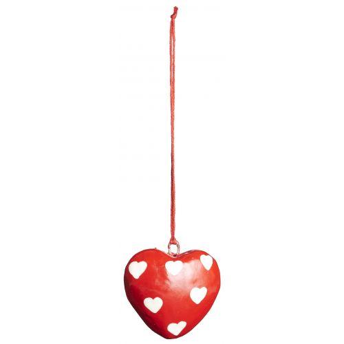 IB LAURSEN / Vánoční mini ozdoba Heart Red