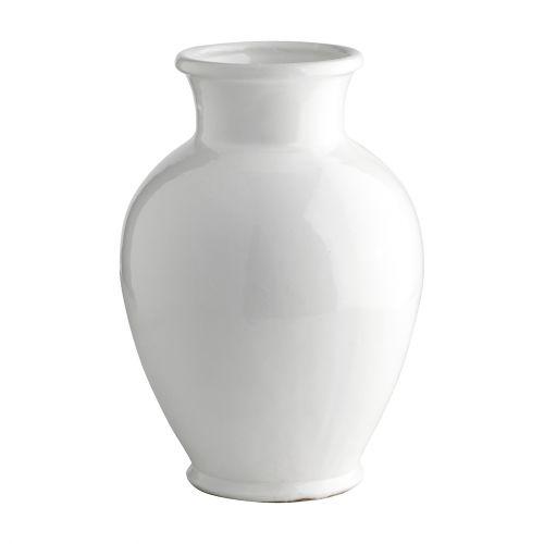 Tine K Home / Keramická váza Morroco White 37 cm