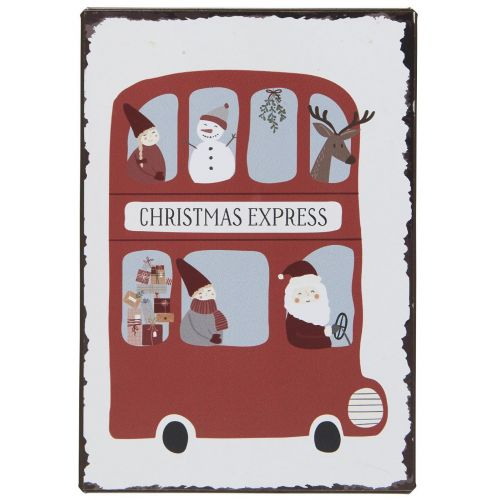 IB LAURSEN / Plechová ceduľa Christmas Express