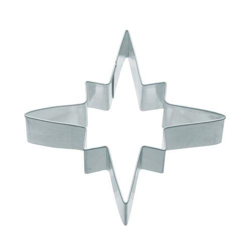 Kitchen Craft / Nerez formička - hviezda 7,5 cm