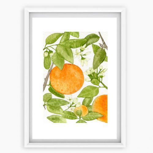 MANKAI Paper / Plagát Pomaranče A4