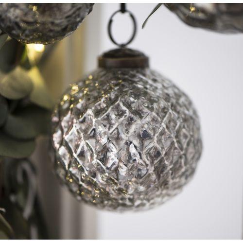 14075d939 IB LAURSEN / Vianočná ozdoba Harlequin Silver väčšia ...