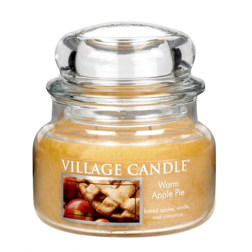 VILLAGE CANDLE / Sviečka v skle Warm apple pie - malá