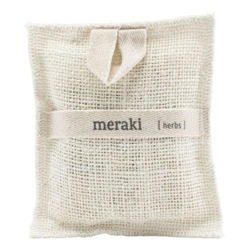 meraki / Jutová hubka s kúskami mydla Herbs
